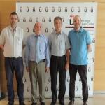 """Curso de Verano """"Energía Inteligente para un Futuro Sotenible"""". Ponentes: Javier Dufour, Juan Manuel García, Guillermo Calleja y Antonio Garballo. Julio de 2015."""