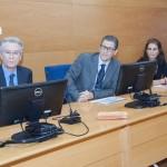 Presentación en la URJC de la Tercera Convocatoria INSPIRE. Ponentes:  Bernardo del Amo, Juan Antonio Melero, Pilar Lafuente