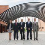 Reunión Anual BIA y participantes: Doña Mar Gómez, D. Alberto López-Oleaga, D. Alfredo Aguilar,D. Juan Carlos Ruiz y D. Guillermo Calleja