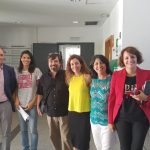 Visita de la Universidad Nacional de San Luis al CEI Sept. 20181